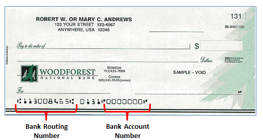 woodforest national bank routing number nc
