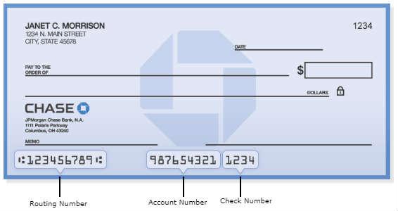 jpmorgan Chase Bank Routing Number California