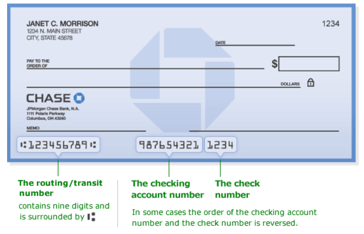 bank routing number of Florida