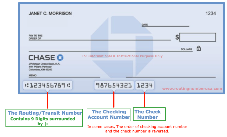 Chase Bank Routing Number New York | Bank Routing Number ... | 746 x 453 png 102kB