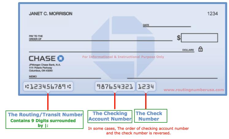 Chase Bank Checks