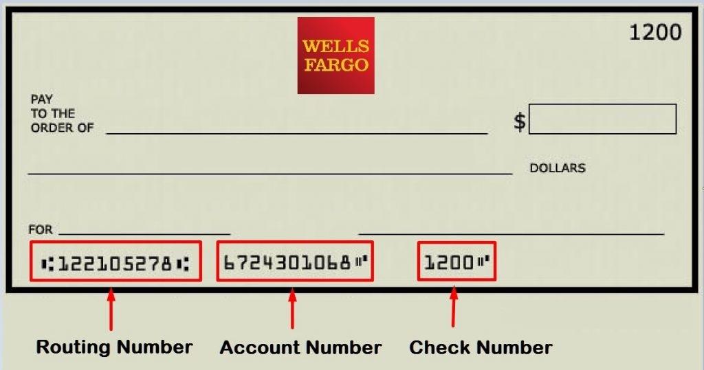 Wells Fargo Routing Number California