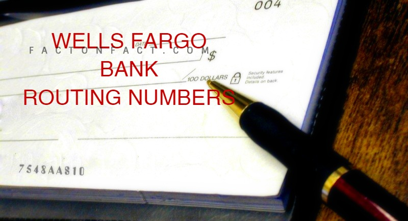 What is Wells Fargo Routing Number New Jersey