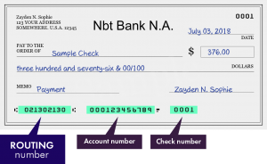 NBT Bank Routing Number