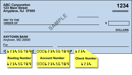 Routing Number for Harris Bank in Canada