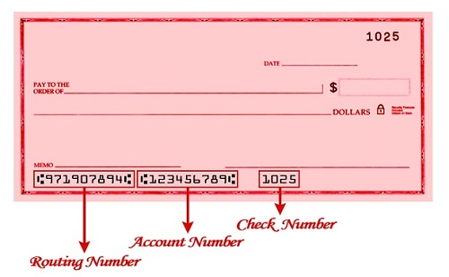 Direct Deposit and ABA Routing Number Information | ESL ... |Aba Account Number