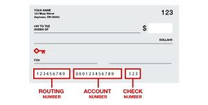 What is the Key Bank Routing Number?