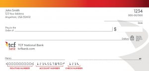 How do I Find My TCF Bank Routing Number?